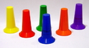 Everrich EVB-0044 Collapsable Cone - set of 48 pcs in 6 colors, 6