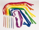 Everrich EVC-0059 Rhythm Ribbon - set of 6 colors, 3' L