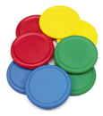 Everrich EVM-0006 Foam Flying Discs - set of 6 colors, 8 3/4