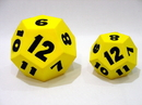 Everrich EVM-0017 12 Sides Foam Dice --7