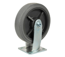 "Ex-Cell Kaiser 780-8"" PLY-GRY Grey Poly Casters"