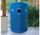 Ex-Cell Kaiser RC-2441 CANS RBL Landscape Series Perforated Outdoor Recycler
