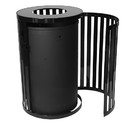 Ex-Cell Kaiser SCTP-40 Streetscape East Hampton Outdoor Trash Receptacle