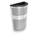 Ex-Cell Kaiser VC2234 HR SS Venue Collection Half Round Waste Receptacle