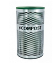 Ex-Cell VCC-33 PERF SS Venue Collection Compost Receptacle