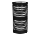 Ex-Cell Kaiser WR-22R Landscape Series Perforated Trash Receptacle