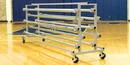 Fisher Athletic Deluxe Gym Floor Cart