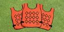 Fisher Athletic VEST3 Chain Gang Set of 3 Vest