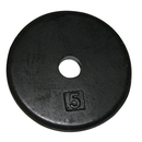 CanDo 10-0602 Iron Disc Weight Plate - 5 Lb