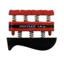 CanDo 10-0741 Cando Digi-Flex Hand Exerciser - Red, Light - Finger (3.0 Lb) / Hand (10.0 Lb)