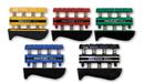 CanDo 10-0745 Cando Digi-Flex Hand Exerciser - Set Of 5 (Yellow, Red, Green, Blue, Black), No Rack