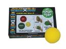 CanDo 10-0776-12 Cando Memory Foam Squeeze Ball - 2.5