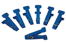 Rolyan 10-0844 Cando Graded Pinch Finger Exerciser, Replacement Pinch Pins, Set Of 5, Blue (Heavy)