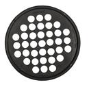 CanDo 10-0865 Cando Hand Exercise Web - Low Powder - 7 Inch Diameter - Black - X-Heavy