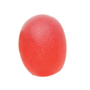 CanDo 10-1892 Cando Gel Squeeze Ball - Large Cylindrical - Red - Light