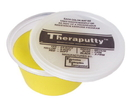 CanDo 10-2601 Cando Antimicrobial Theraputty Exercise Material - 2 Oz - Yellow - X-Soft