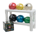 CanDo 10-3167 Pvc Wate Ball Rack - Accessory - 2-Tier 6 Ball Rack