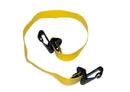 CanDo 10-3201 Cando Adjustable Exercise Band, Yellow - X-Light