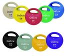 CanDo 10-3297 Cando One Handle Medicine Ball - 15 Lb - Silver