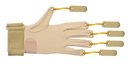 CanDo 10-4004L Cando Deluxe With Thumb Finger Flexion Glove, S/M Left
