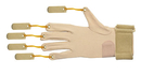 CanDo 10-4005R Cando Deluxe With Thumb Finger Flexion Glove, L/Xl Right
