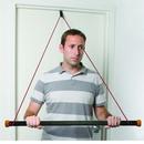 CanDo 10-5062 Cando Over Door Exercise Bar And Tubing, Green - Medium