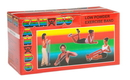 CanDo 10-5212 Cando Low Powder Exercise Band - 6 Yard Roll - Red - Light