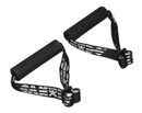 CanDo 10-5330-50 Cando Exercise Band - Accessory - Foam Padded Adjustable Webbing Handle - 50 Pair