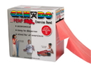 CanDo 10-5692 Cando Latex Free Exercise Band - 100 Yard Perf 100 Roll - Red - Light