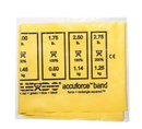 CanDo 10-5901 Cando Accuforce Exercise Band - 4' Exerciser - Yellow - X-Light