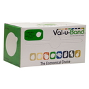 Val-u-Band 10-6213 Val-U-Band Resistance Bands, Dispenser Roll, 6 Yds., Lime-Level 3/7, Contains Latex