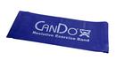 CanDo 10-6454 Cando Low Powder Exercise Band - 5' Length - Blue - Heavy