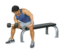 10-7128 Inflight Fitness, Flat Bench
