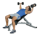 10-7130 Inflight Fitness, Flat-Incline-Decline (Fid) Bench