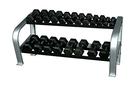 10-7135 Inflight Fitness, Deluxe 2-Tier Dumbbell Rack