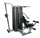 10-7158 Inflight Fitness, Vanguard Training System, Three Stacks, Four Stations, Cable Column Option, Full Shrouds