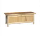 Generic 15-1082 Wooden Treatment Table - Enclosures, Raised Rim Top, 78
