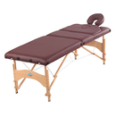 Massage table with adjustable back, 30