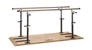 CanDo® Platform Mounted Parallel Bars, Height & Width Adjustable, 400 LB Capacity, 12'