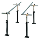 CanDo® Floor Mounted Parallel Bars, Height & Width Adjustable, 7'