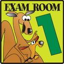 Clinton 15-4630 Clinton, Exam Room 1 Sign