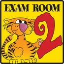 Clinton 15-4631 Clinton, Exam Room 2 Sign
