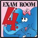 Clinton 15-4633 Clinton, Exam Room 4 Sign