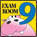 Clinton 15-4638 Clinton, Exam Room 9 Sign