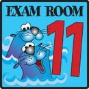 Clinton 15-4640 Clinton, Exam Room 11 Sign