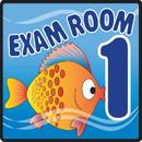 Clinton 15-4651 Clinton, Sign, Ocean Series, Exam Room 1 Sign