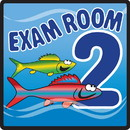 Clinton 15-4652 Clinton, Sign, Ocean Series, Exam Room 2 Sign