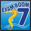 Clinton 15-4657 Clinton, Sign, Ocean Series, Exam Room 7 Sign