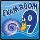 Clinton 15-4659 Clinton, Sign, Ocean Series, Exam Room 9 Sign