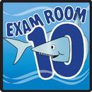 Clinton 15-4660 Clinton, Sign, Ocean Series, Exam Room 10 Sign